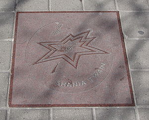 Shania Twain star on Walk of Fame.jpg