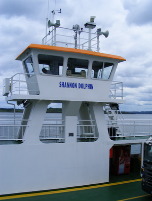 Shannon Ferry - Shannon Dolphin (July 2010).