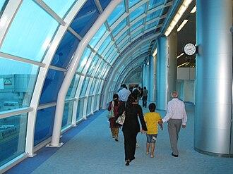 Sharjah International Airport - inside Sharjah International Airport.