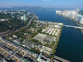Sha Tin Sewage Treatment Works