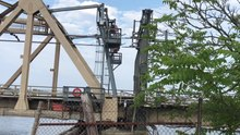 File:Shaw's Cove Railroad Bridge closing.webm