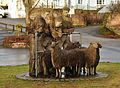 Sheep sculpture in Hatherleigh.jpg