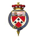 Shield of Arms of Charles Hardinge, 1st Baron Hardinge of Penshurst, KG, GCB, GCSI, GCMG, GCIE, GCVO, ISO, PC, DL.png