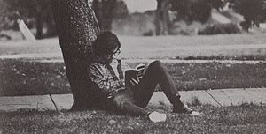 On Liberty - Shimer College student reads On Liberty in 1973.