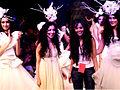 Shraddha Kapoor at Gauri Nainika's showcase at Lakme Fashion Week.jpg