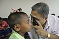 Shyamalendu Manna Checks Eyesight - Kolkata 2016-05-07 2291.JPG