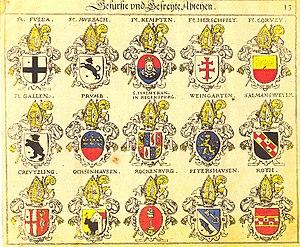 Heads in heraldry - Image: Siebmacher 013