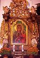 Siedlęcin, ołtarz główny w kościele pw. św. Mikołaja PICT9448.JPG