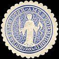 Siegelmarke Bürgermeister - Amt - Worringen W0235829.jpg