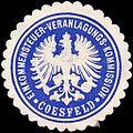 Siegelmarke Einkommensteuer - Veranlagungs - Kommission - Coesfeld W0216238.jpg