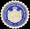Siegelmarke Grossh. Mecklb. Strelitzsches Ministerium Abt. d. Innern W0302086.jpg