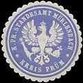 Siegelmarke K.Pr. Standesamt Mürlenbach W0328176.jpg