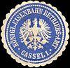 Siegelmarke K. Eisenbahn Betriebs - Amt - Cassel I. W0217513.jpg