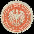 Siegelmarke K. Landrat des Kreises Strelno W0386317.jpg