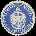Siegelmarke K. Marine Kommando S.M.S. Weissenburg W0364007.jpg
