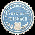 Siegelmarke Koenigreich Bayern - Gemeinde Teisnach W0219552.jpg