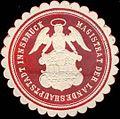 Siegelmarke Magistrat der Landeshauptstadt Innsbruck W0211504.jpg