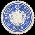 Siegelmarke Siegel der Stadt Goch W0245996.jpg