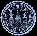Siegelmarke Siegel der Stadt Wesenberg W0227565.jpg