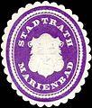 Siegelmarke Stadtrath Marienbad W0318423.jpg