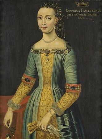 Sigrid of Sweden (1566–1633) - Image: Sigrid Eriksdotter Vasa