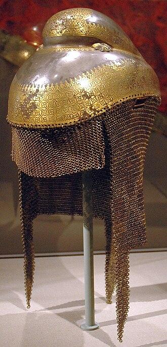 Sikh - A Sikh Khalsa Army sowar's battle helmet