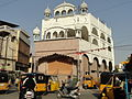 Sikhs temple at koti..JPG
