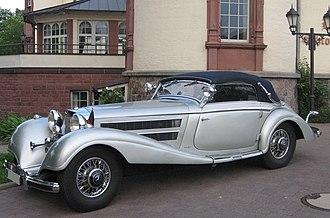 Friedrich Geiger - Image: Silver Mercedes Benz