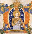 Silvestro de' Gherarducci - Gradual from Santa Maria degli Angeli (Folio 32v) - WGA08673.jpg