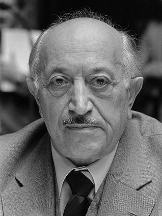 Simon Wiesenthal - Wiesenthal in 1982