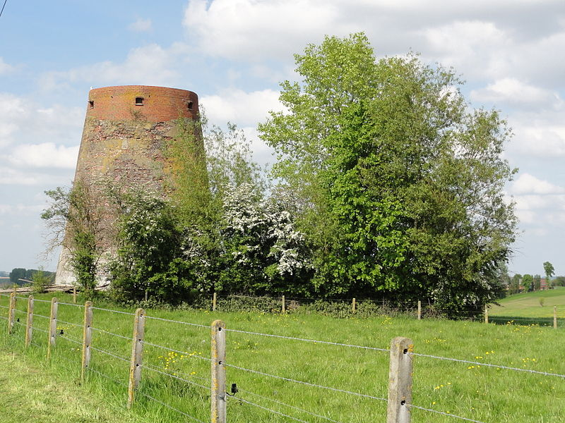 Plankeveldmolen windmill in Sint-Maria-Horebeke. Sint-Maria-Horebeke, Horebeke, East Flanders, Belgium