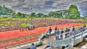 Sir Ignatius Kilage Stadium - Stadium hosting a concert in 2011