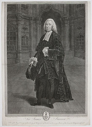 James Burrow - Sir James Burrow by James Basire