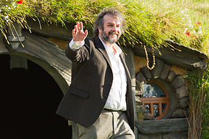 Works inspired by J. R. R. Tolkien - Peter Jackson, director of six Tolkien adaptations, at the site of filming of The Hobbit trilogy