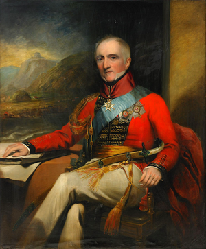 Henry Hoppner Meyer - Portrait of Sir Rufane Shaw Donkin, 19th century, by Meyer