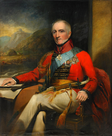 Portrait of Sir Rufane Shaw Donkin, 19th century, by Meyer Sir Rufane Shaw Donkin.PNG