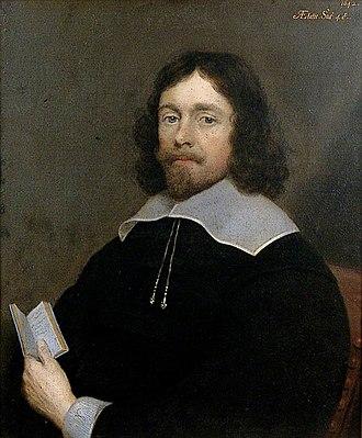Sir William Brockman - Sir William Brockman by Cornelius Johnson (1642)