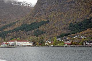 Skei, Sogn og Fjordane Village in Western Norway, Norway