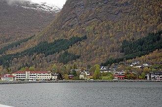 Skei, Sogn og Fjordane - View of the village