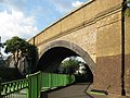Skew arch railway bridge, Catford - geograph.org.uk - 841140.jpg