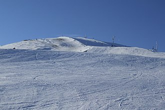 Piste - Red slope in Park Snow Donovaly, Slovakia