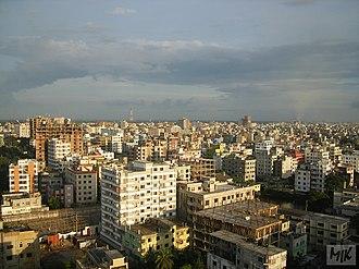 Narayanganj - Image: Skyline in Narayanganj (02)