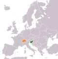 Slovenia Switzerland Locator.png
