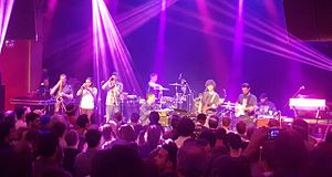 Snarky Puppy - Snarky Puppy performing at the Vogue Theatre on May 13, 2016.