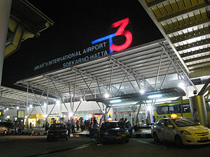Soekarno-Hatta International Airport Terminal 3 front