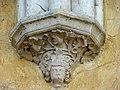 Soissons (02), abbaye Saint-Jean-des-Vignes, réfectoire, cul-de-lampe du 2e doubleau, côté est.jpg