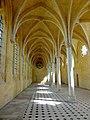 Soissons (02), abbaye Saint-Jean-des-Vignes, réfectoire, vaisseau ouest, vue vers le nord 2.jpg
