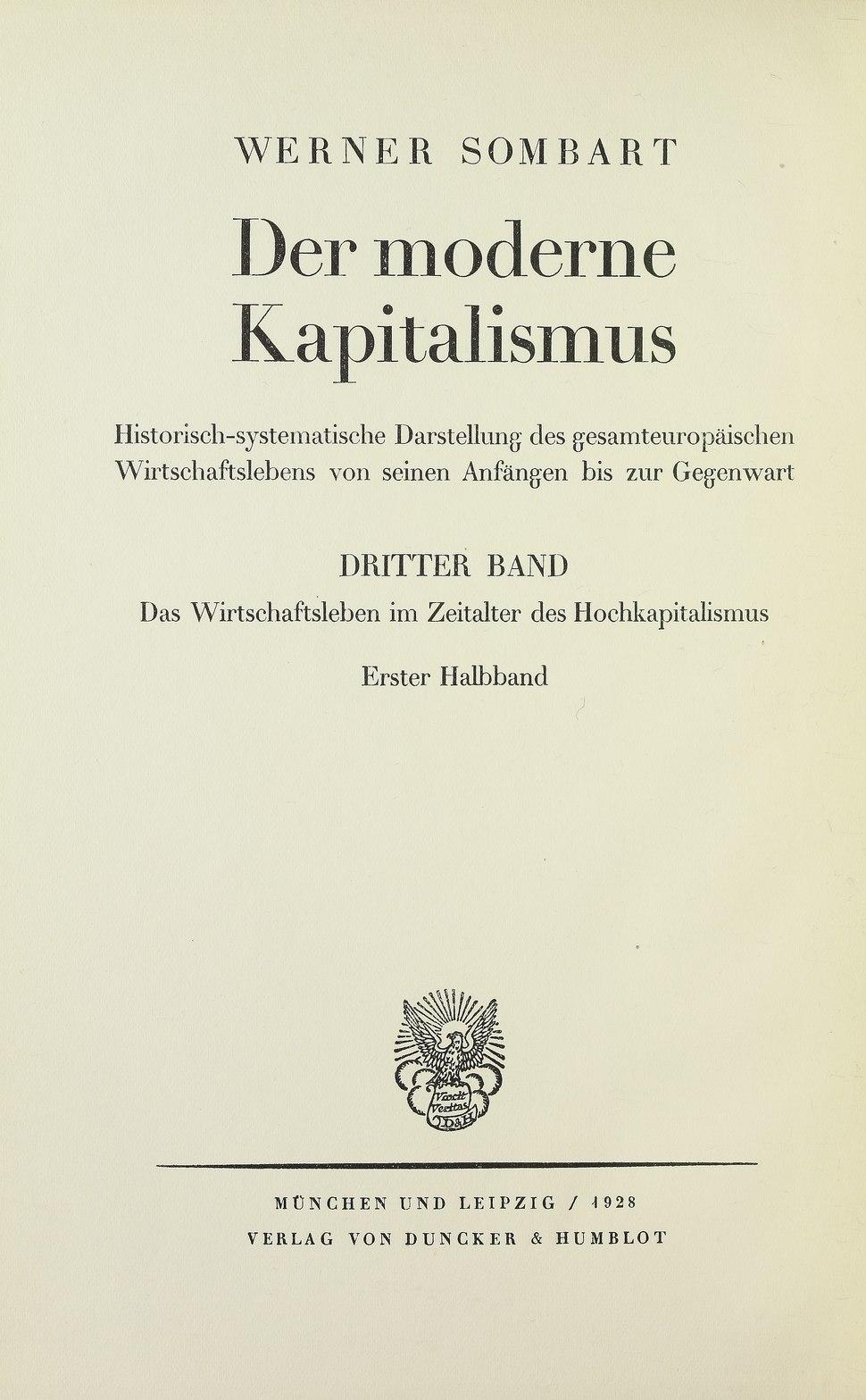 Sombart - Wirtschaftsleben im Zeitalter des Hochkapitalismus, 1928.tiff