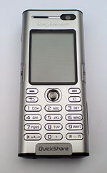 Sony Ericsson K600i, front, switched off.JPG