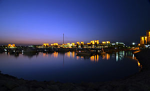 Souq Sharq - Blue Hours of Souq Sharq